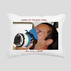 itsagas[206_H_F] Rectangular Canvas Pillow